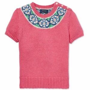 NEW Polo Ralph Lauren girls sweater
